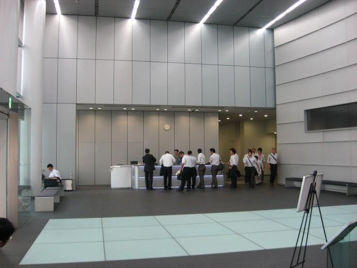 Toyota technical centre lobby