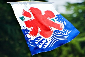 Ice kanji flag