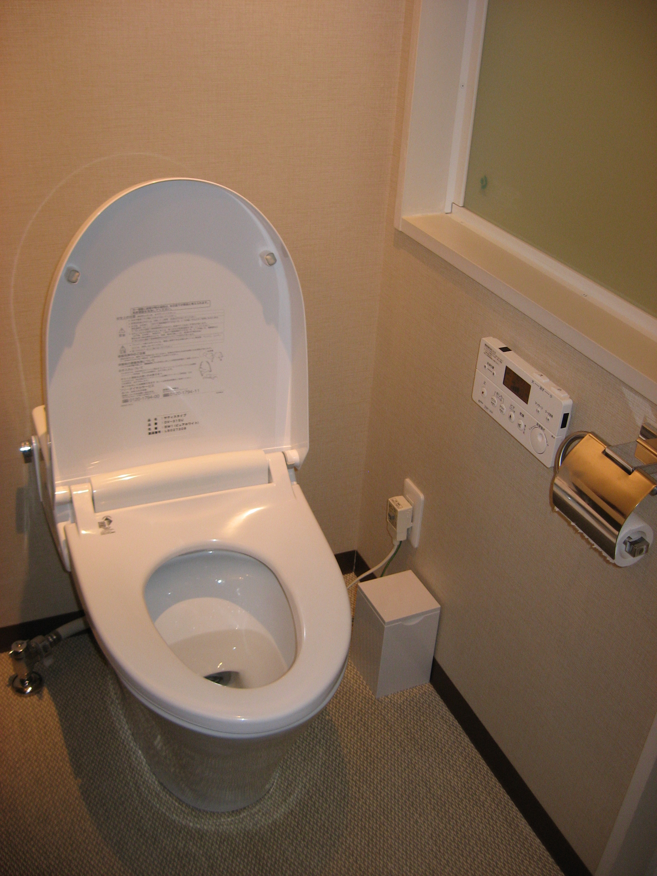 The other Japanese toilet | The Japans