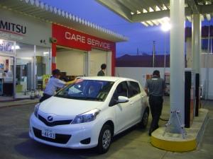 Gasoline station, Hokkaido
