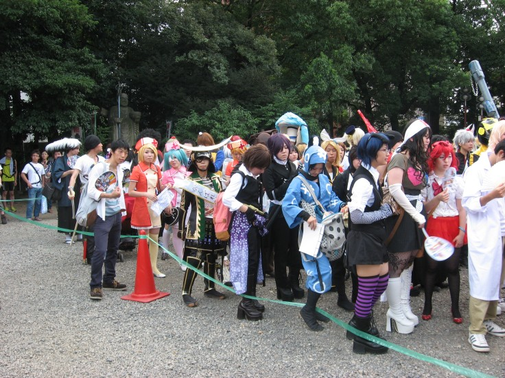 herded together - World Cosplay Summit