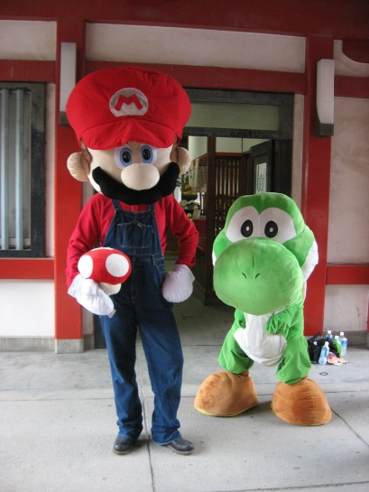 Mario and Yoshi - World Cosplay Summit