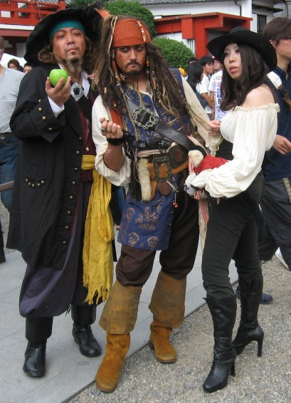 Pirates of the Carribean cosplay
