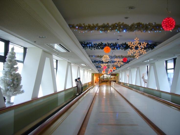 Christmas decorations in Matsuzakaya, Toyota City