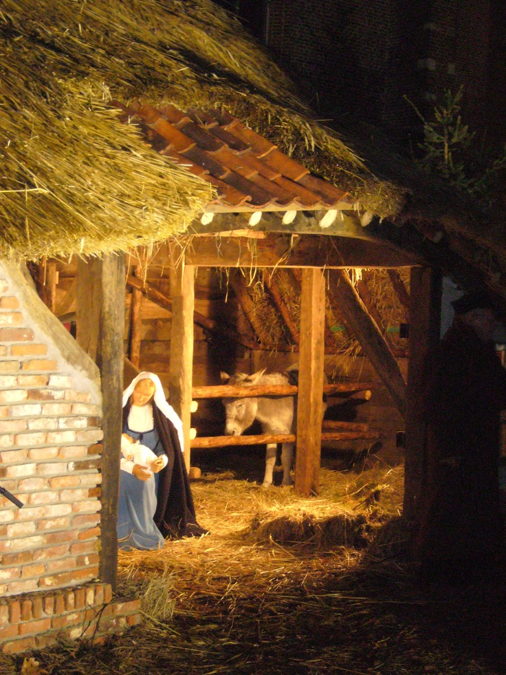 Nativity scene in Belgium