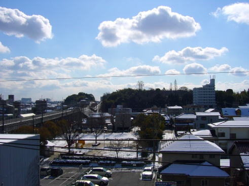 Sunshine during Japanese winter, Toyota City, Japan
