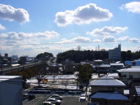 Sunshine during Japanese winter, Toyota City, Japan