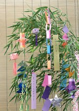 tanabata decorations
