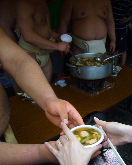 Chankonabe changing hands