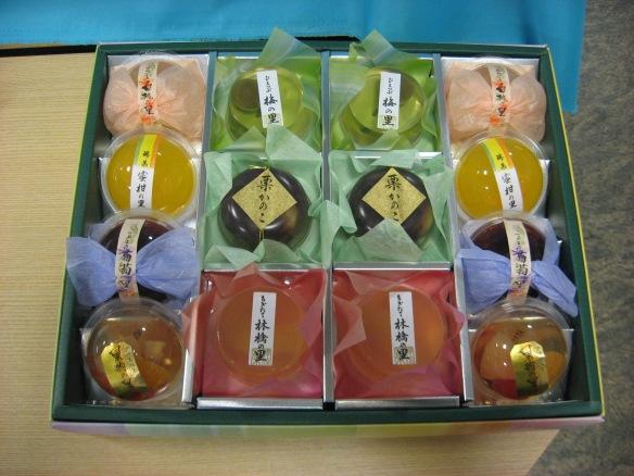 Box of jellies