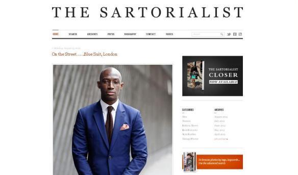the sartorialist screenshot