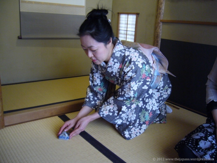 tea ceremony elegant hands