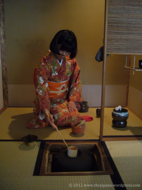 tea ceremony elegant hands
