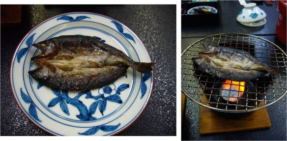 grilled fish for breakfast