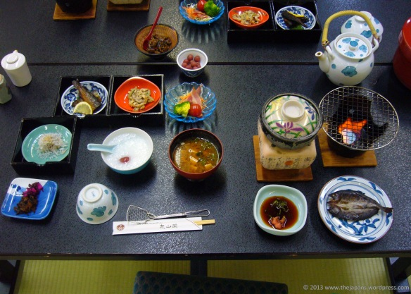 japanese breakfast ryokan