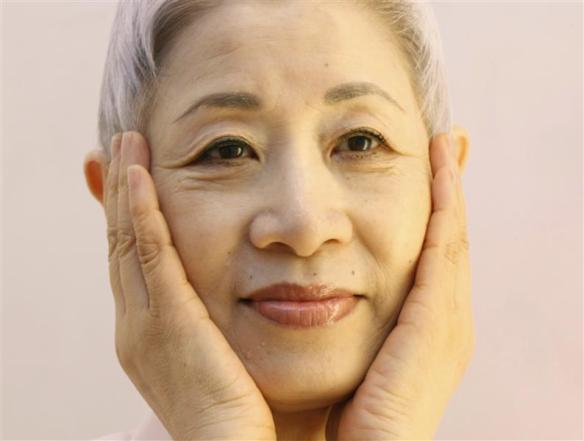 Japanese beauty expert Chizu Saeki, author of the book 'The Japanese skin care revolution', aged 66
