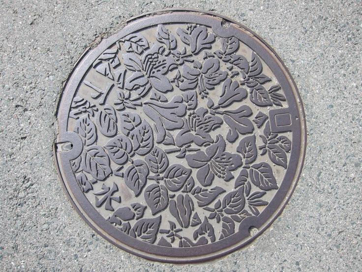 takayama manhole cover