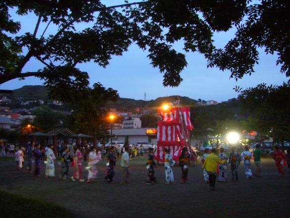 Obon in Muroran, Hokkaido