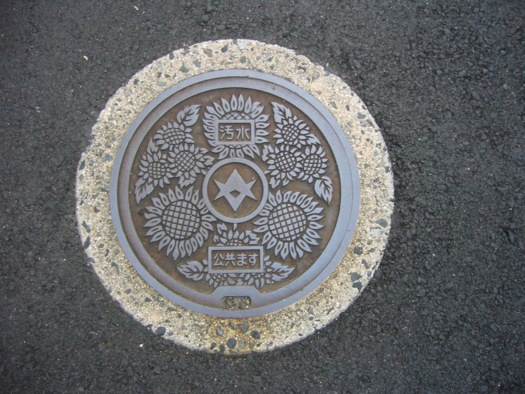 toyota city manhole cover