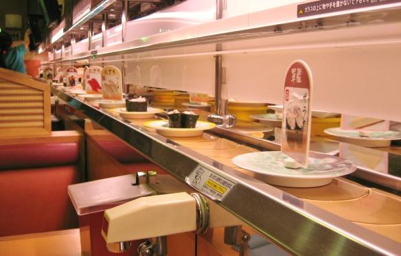 kappazushi conveyer belt