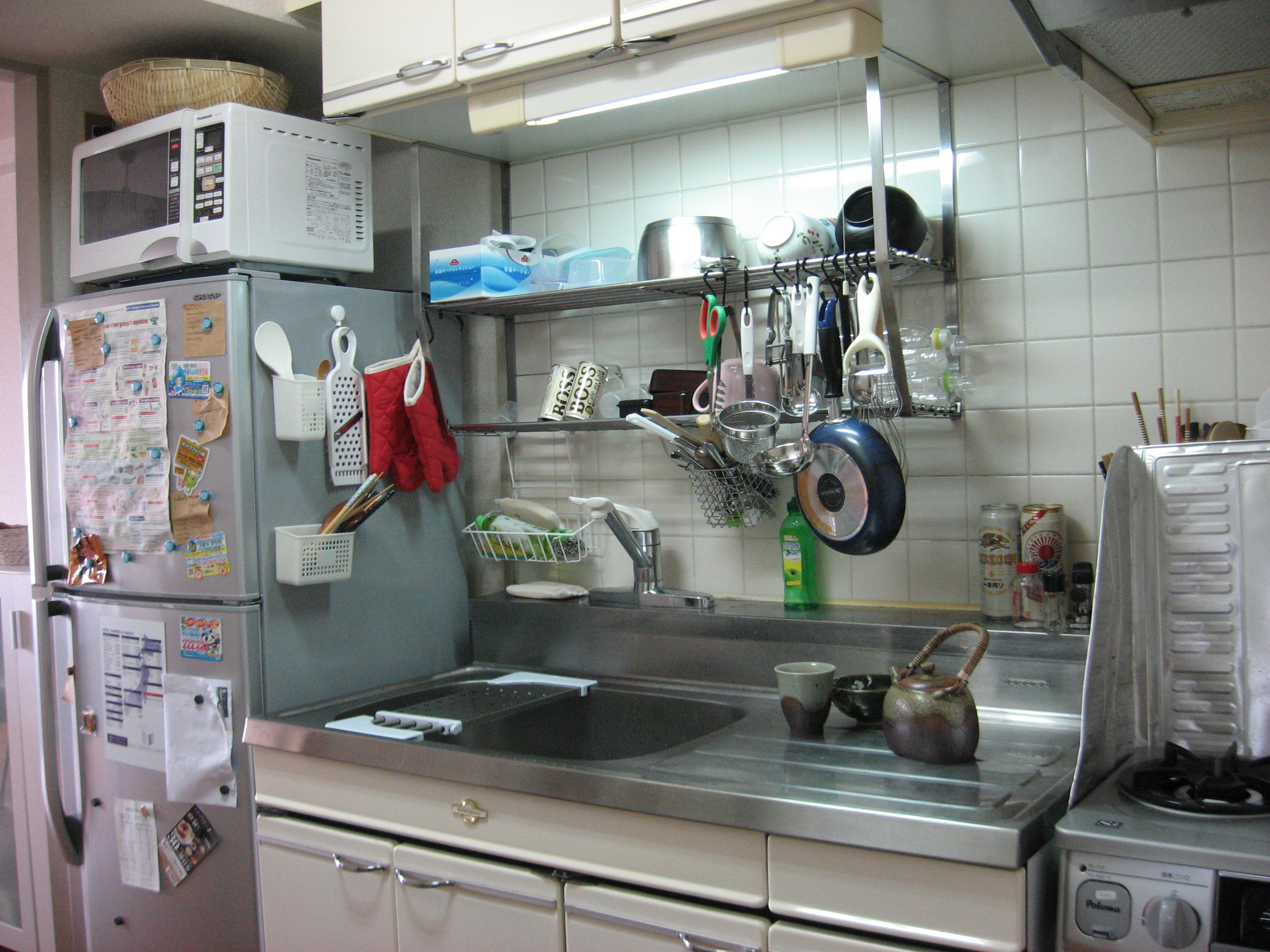 Strange kitchen contraption | The Japans