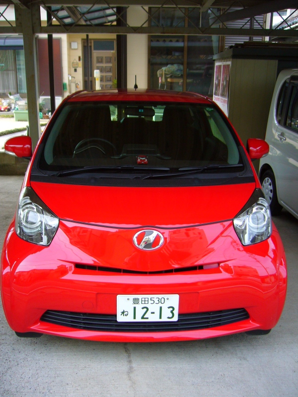 Toyota IQ in Japan
