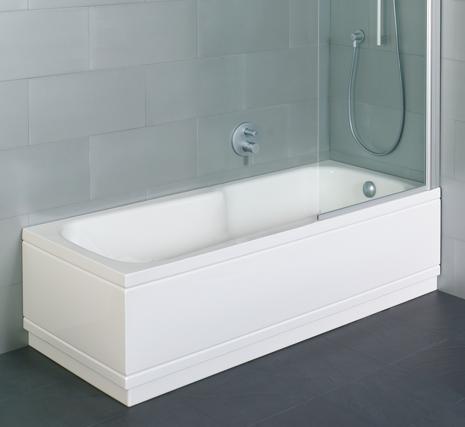 typical western bath
