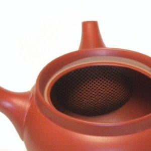 Japanese teapot kyusu inside