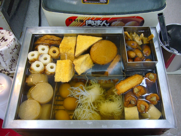 Oden japanese winter food