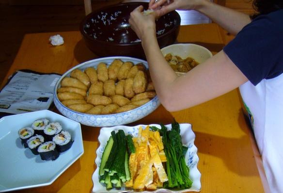 types of sushi: inarizushi