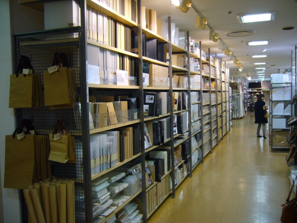 Muji Japan stationary and storage