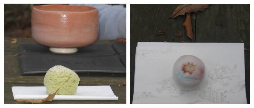 nodate field tea ceremony wagashi