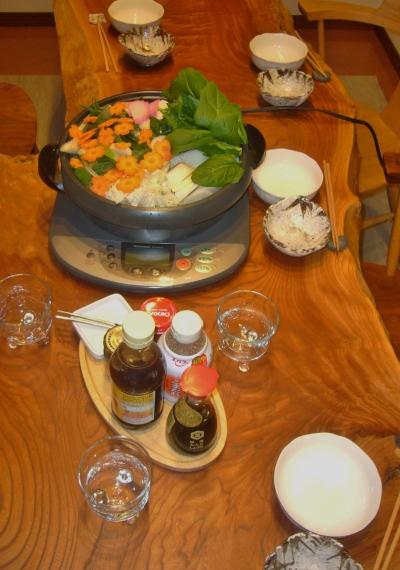 Japanese nabe party