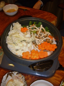 japanese nabe party more vegetables