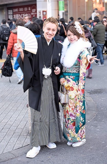 coming of age day proper kimono fashion