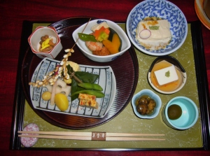 kyoto kaiseki meal