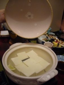 kyoto kaiseki meal tofu