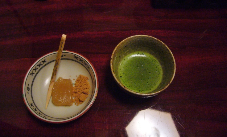kaiseki meal kyoto matcha